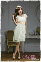時尚洋裝 小禮服推薦到[瑪嘉妮Majani]- 甜美 氣質 大尺碼小禮服 伴娘服 宴會 約會 L~4XL 特價590元免運 ld-081