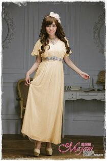 [瑪嘉妮Majani]- 甜美 氣質 大尺碼小禮服 伴娘服 宴會 約會 L~3XL 特價790元免運 ld-131