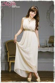 [瑪嘉妮Majani]- 甜美 氣質 大尺碼小禮服 伴娘服 宴會 約會 L~4XL 特價890元免運 ld-151