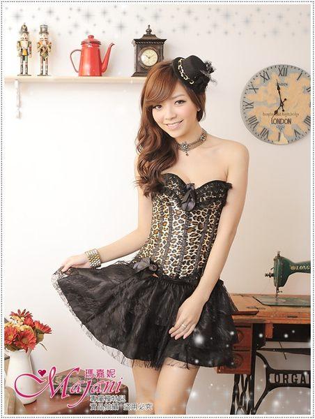 [瑪嘉妮Majani]日系中大尺碼-甜美澎澎裙 襯裙 搭配馬甲 長版衣 內搭 E款(黑色)特價329 可超取