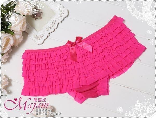 [瑪嘉妮Majani]日系中大尺碼-甜美.可愛又小性感蛋糕褲質感佳現貨99元