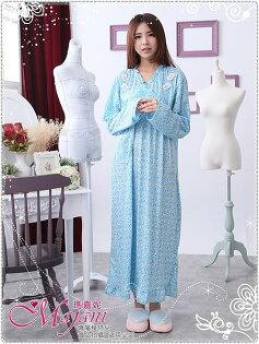 [瑪嘉妮Majani]中大尺碼-棉質居家服睡衣加長舒適寬鬆有特大碼特價299