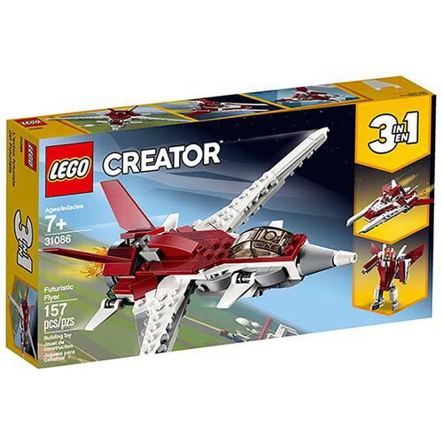 樂高LEGO 31086 Creator 創意百變系列 - 未來飛行器 - 限時優惠好康折扣