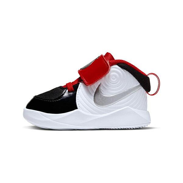 【NIKE】TEAM HUSTLE D 9 AUTO TD 童鞋 運動鞋 魔鬼氈 雙色 小童 -CK0617001