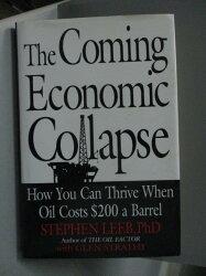 【書寶二手書T7/餐飲_QEF】The Coming Economic Collapse: How You Can Th