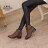 格子舖*【KW2190】MIT台灣製 帥氣金屬扣環繞帶皮革 拉鍊低跟短靴 馬丁靴 機車靴 工程靴 2色 1