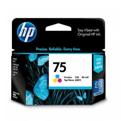 【OKIN】HP 原廠彩色墨水匣 CB337WA 75號 印表機耗材 噴墨印表機