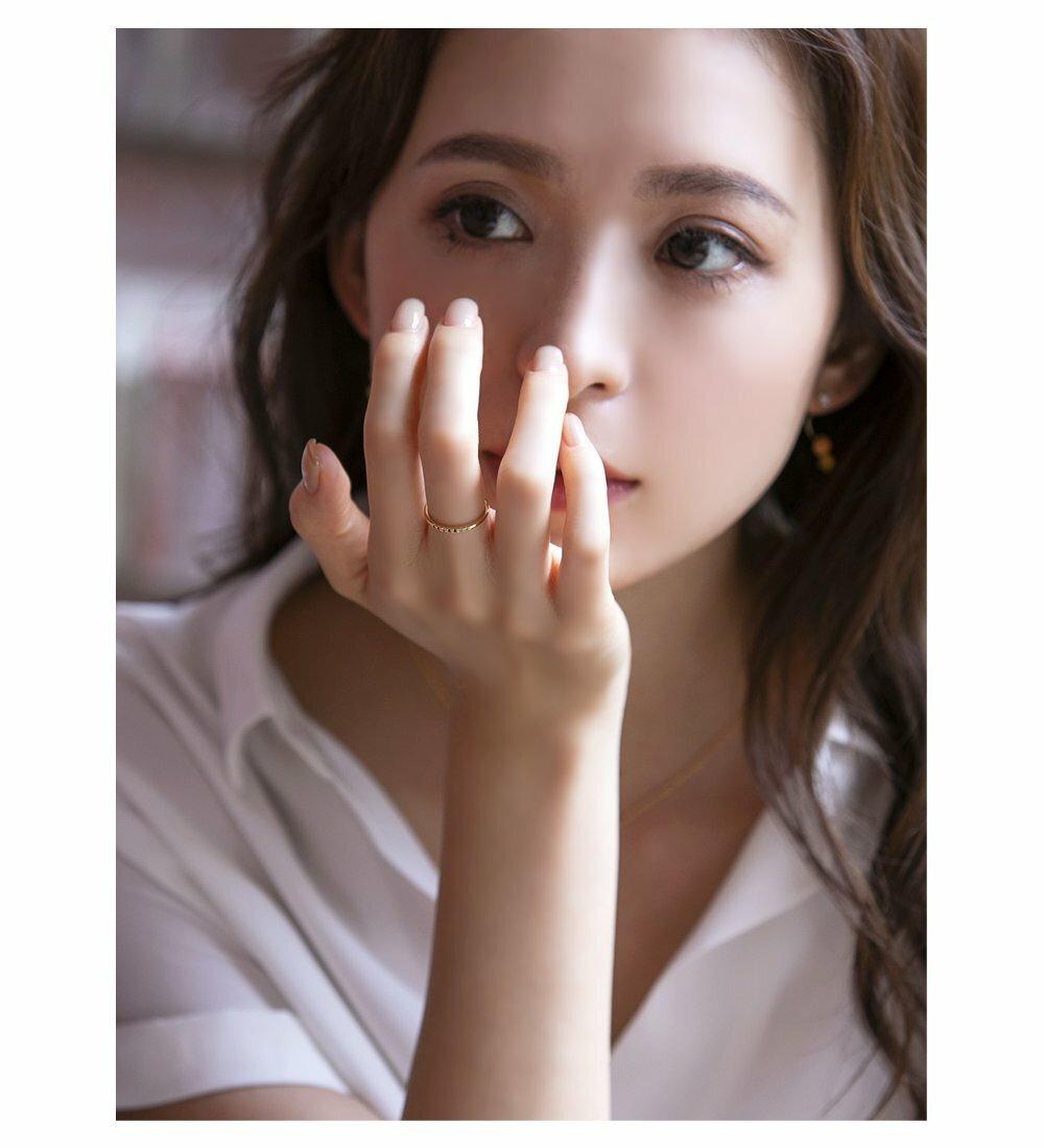 日本CREAM DOT  /  リング 指輪 11号 ビジュー レディース ビジュー カラーストーン 重ね付け シルバー ゴールド エレガント シンプル プレゼント 女性 結婚式 デイリー 細め 華やか ブランド アクセサリー  /  qc0456  /  日本必買 日本樂天直送(1098) 3