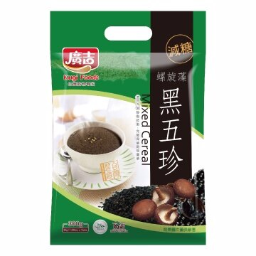 《廣吉》品豆(減糖)-黑五珍(10入)