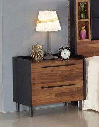 【尚品家具】JF-025-1 畢卡索雙色床頭櫃