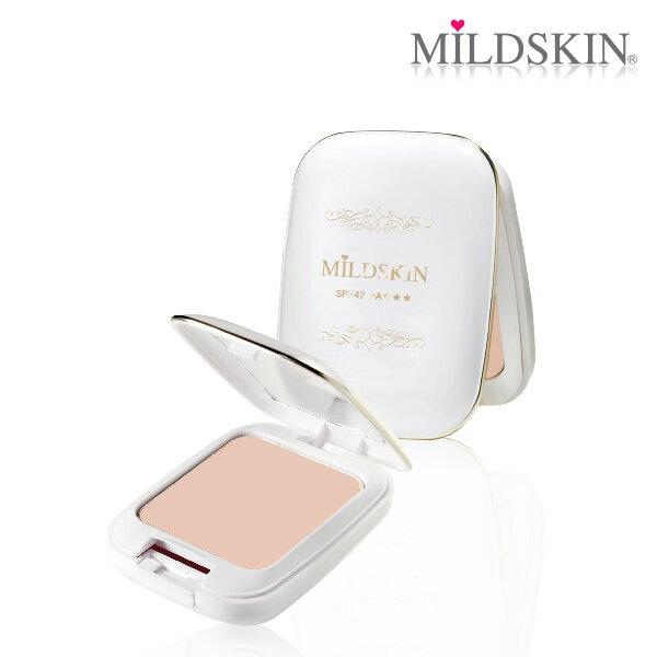 mildskin 麥德絲肌:【MILDSKIN】白金光感柔白兩用粉餅