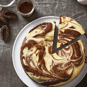 【樂田麵包屋】起士布朗尼6吋★甜鹹合體→VALRHONA 55%苦甜巧克力及可可粉+澳洲百年大廠Cream Cheese,紮實濕潤、滑順濃郁