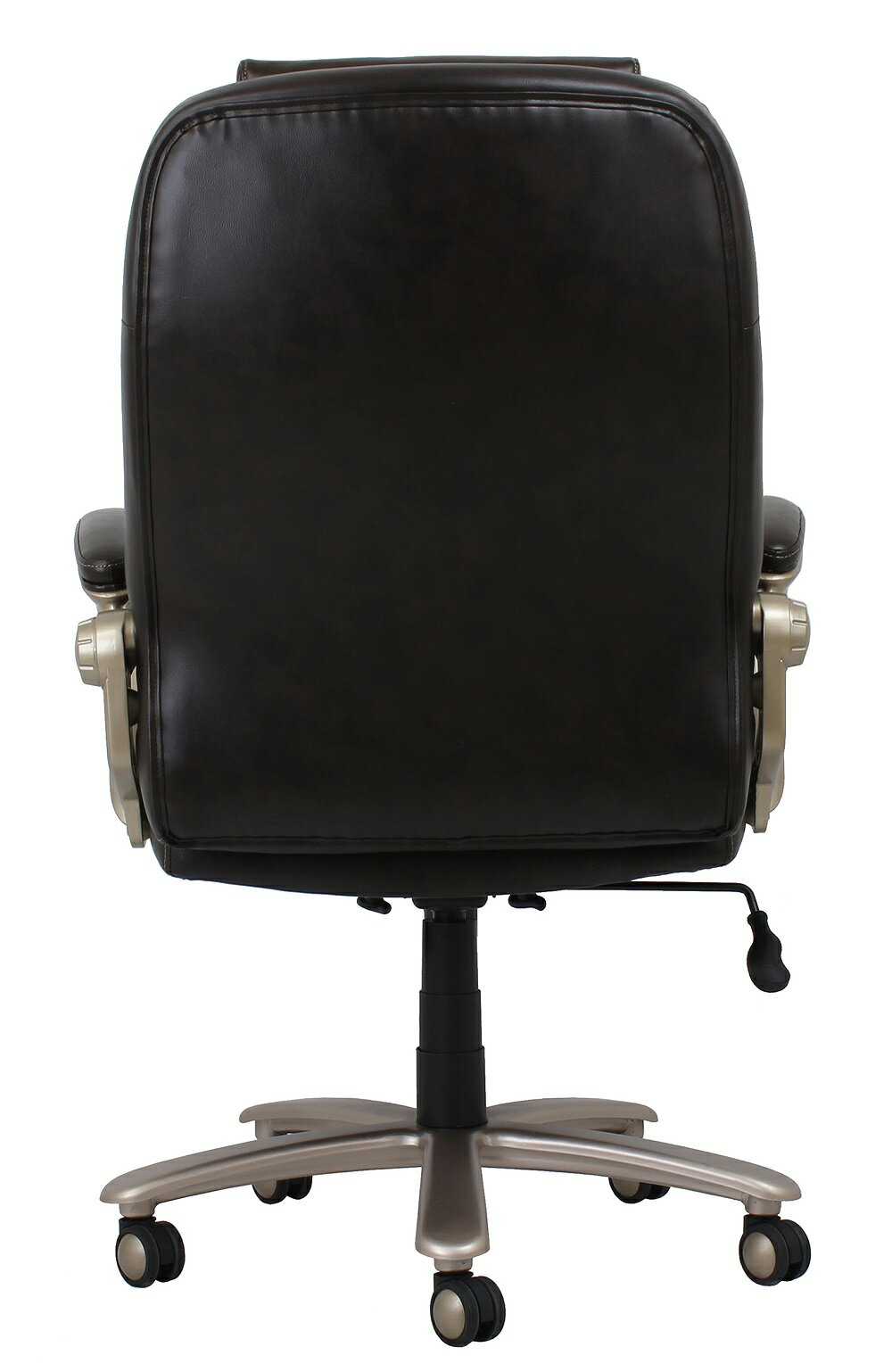 Essentials By Ofm Ess 201 Big And Tall Leather Executive Office Chair With Arms Brown Bronze