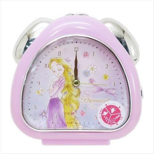 X射線【C063406】長髮公主Rapunzel樂佩鬧鐘-蝴蝶結,時鐘掛鐘壁鐘座鐘鬧鐘鐘錶手錶潛水錶