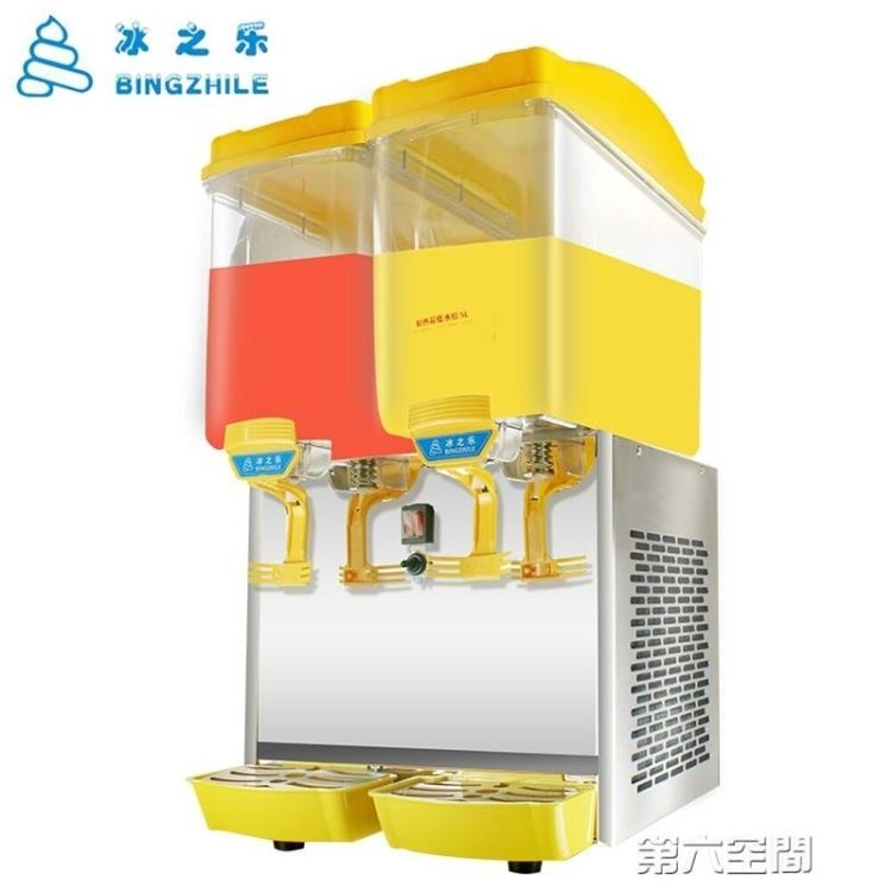 飲料機 飲料機 商用熱飲機冷熱奶茶全自動雙缸三缸果汁機冷飲機 第六空間 MKS 聖誕節禮物