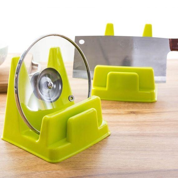 多功能鍋蓋架 砧板架 刀架 餐盤架 廚房置物架 環保收納架 碗盤架 鍋具架【RS530】