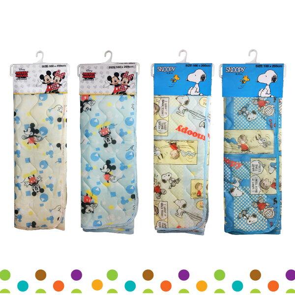 迪士尼米奇史努比SNOOPY涼感床墊100X200cm冰涼涼墊涼感墊日本正版進口101495