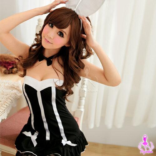亞娜絲情趣用品派對公主!六件式經典兔女郎裝角色扮演變裝睡衣