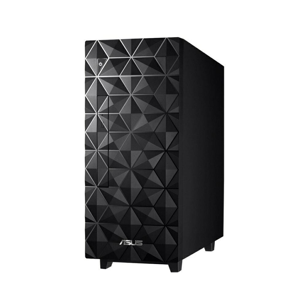 【ASUS 華碩】H-S300MA-0G5905010T 桌上型電腦 菱格黑【三井3C】