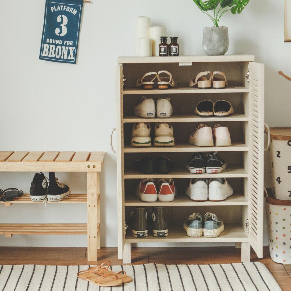 鞋櫃 / 鞋架 / 玄關櫃 Ginza百葉雙門鞋櫃  完美主義【P0013】 2