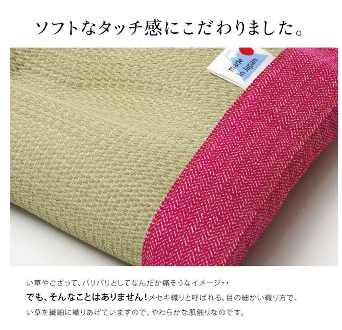 日本IKEHIKO夏日涼感枕頭 / 天然無染 / 九州藺草涼枕 / 枕頭 / 30×20cm / 。2色-日本必買 日本樂天代購(1752*0.2)。件件免運 4