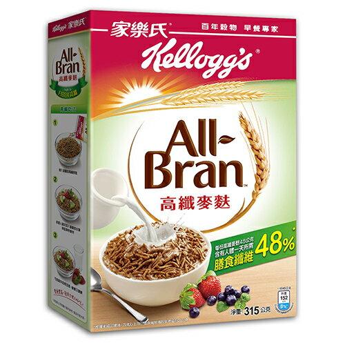 ★買一送一★家樂氏高纖麥麩早餐穀物315g【愛買】