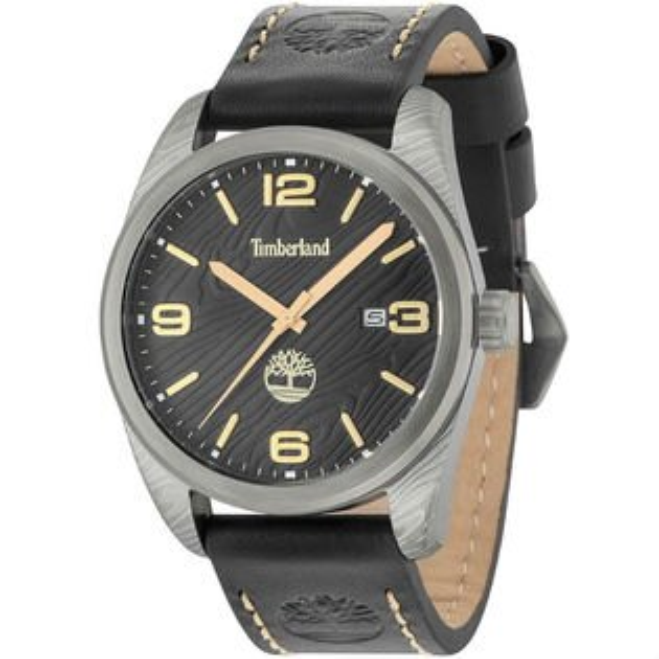 Timberland天柏嵐TBL.15258JSU02美式時尚潮流腕錶黑面46mm