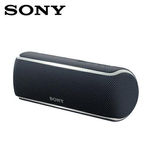 SONYSRS-XB21-B防水無線藍牙隨身喇叭黑色【三井3C】