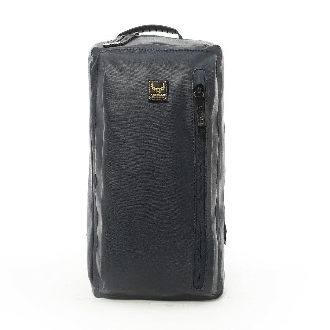 AIRWALK黑金系列-韓版學院側背包《藍》