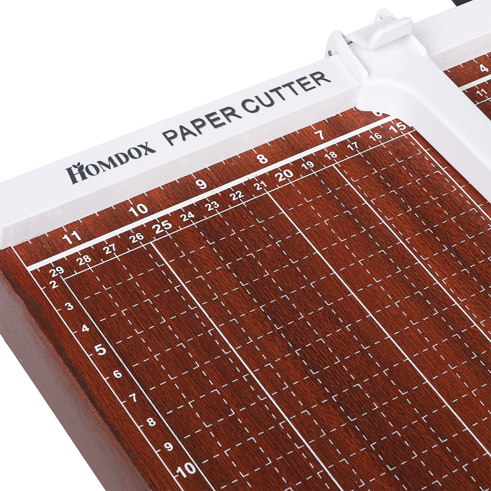 Wooden A3-B7 paper cutter 4