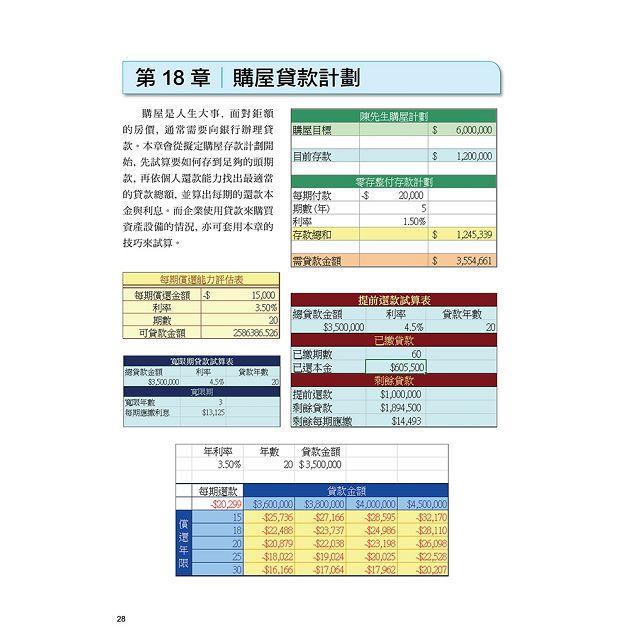 Microsoft Excel 2016 商用範例實作 6