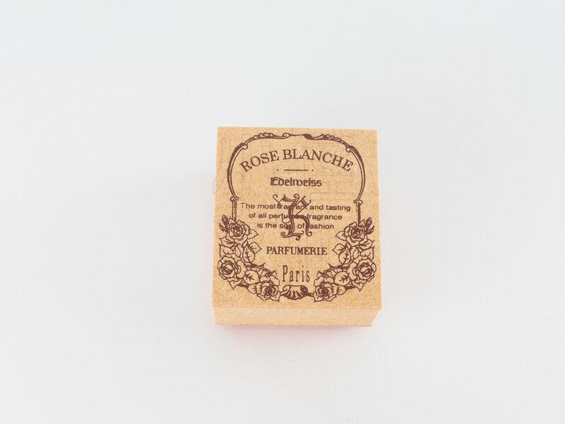 *小徑文化*日本進口手作雑貨 TOKYO ANTIQUE stamp - ローズブランシェ ( B4035R-B )