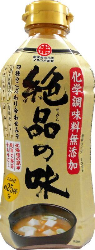 [丸米]絕品之味濃縮味噌汁-北海道昆布 約25杯份(430g)