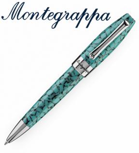義大利Montegrappa萬特佳財富馬賽克系列-原子筆(松石綠)ISFOBBIA支