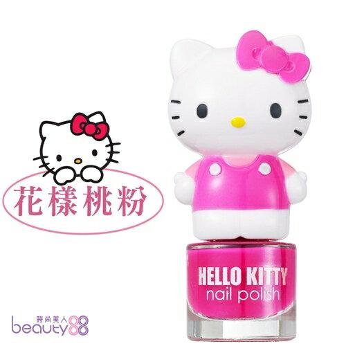 【iBV.18】Hello Kitty 繽紛萌女孩指甲油-花樣桃粉