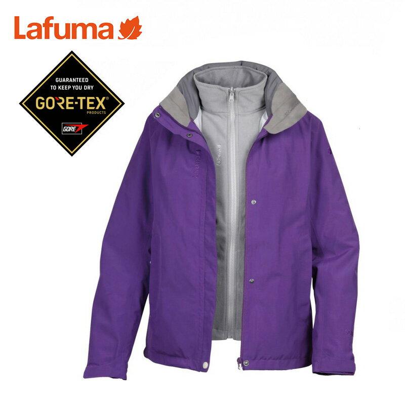 【下殺5折】專櫃品牌出清 法國 Lafuma LFV9314 GoreTex 女二件式防水外套 保暖夾克 防風外套 雪衣 旅遊登山賞雪