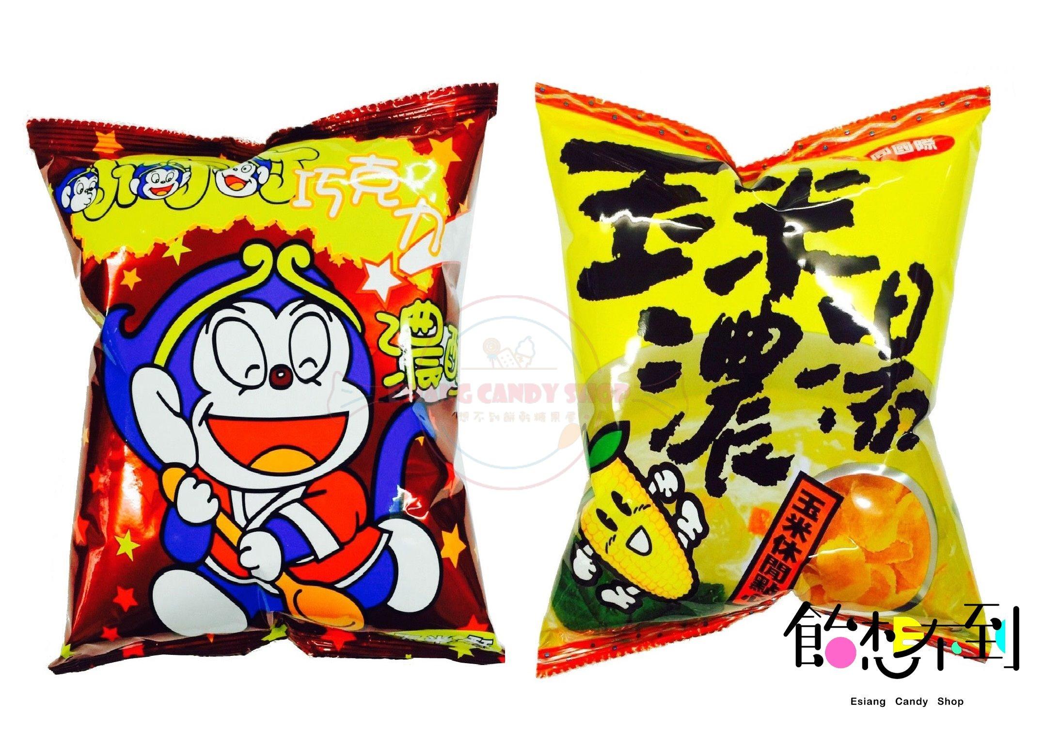 飴想不到餅乾糖果屋 【大同國際】玉米濃湯風餅/ 小叮叮巧克力玉米酥60g