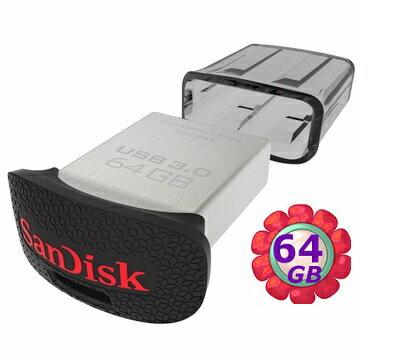SanDisk 64GB 64G Cruzer Ultra Fit 130MB/s【CZ43】SDCZ43 SDCZ43-064G USB 3.0 原廠包裝 隨身碟