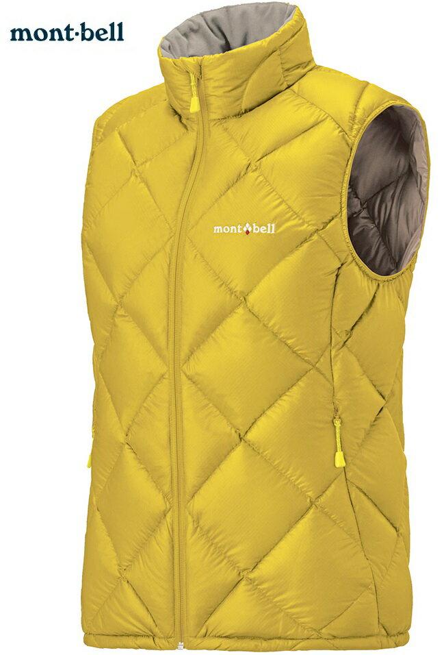 Mont-Bell 羽絨背心/羽毛背心 Light Alpine 800FP鵝絨 女款 1101537 CYL柚黃 montbell 台北山水