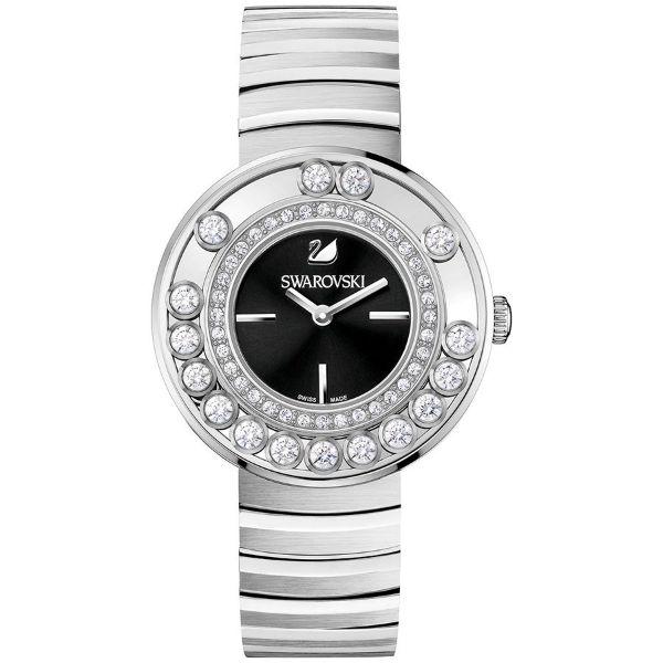 SWAROVSKI 施華洛世奇 Lovely Crystals 奢華時尚魅力腕錶 - 黑/35mm (1160305)