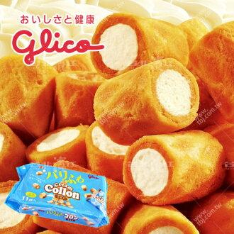 【台北濱江】Glico固力果奶油捲心酥148.5g/包