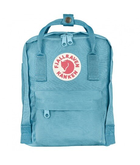 ├登山樂┤瑞典Fjallraven Kanken Mini 復古後背包 方型書包-空氣藍 # F23561-508