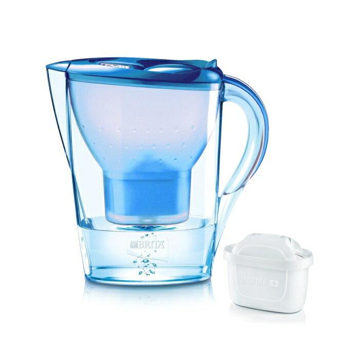 【BRITA】德國進口 Marella 馬利拉淨水器/淨水壺/濾水壺 3.5L(內含1支濾芯)(海洋藍)