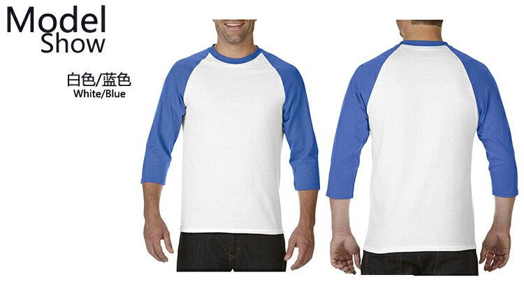 【GILDAN】亞規七分袖棒球T恤 76700系列 4