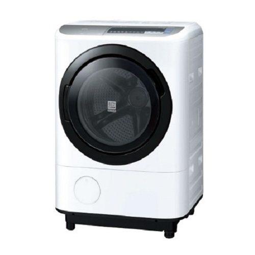 【HITACHI日立日本原裝】12.5公斤滾筒洗脫烘右開洗衣機BDNX125BJRW星燦白