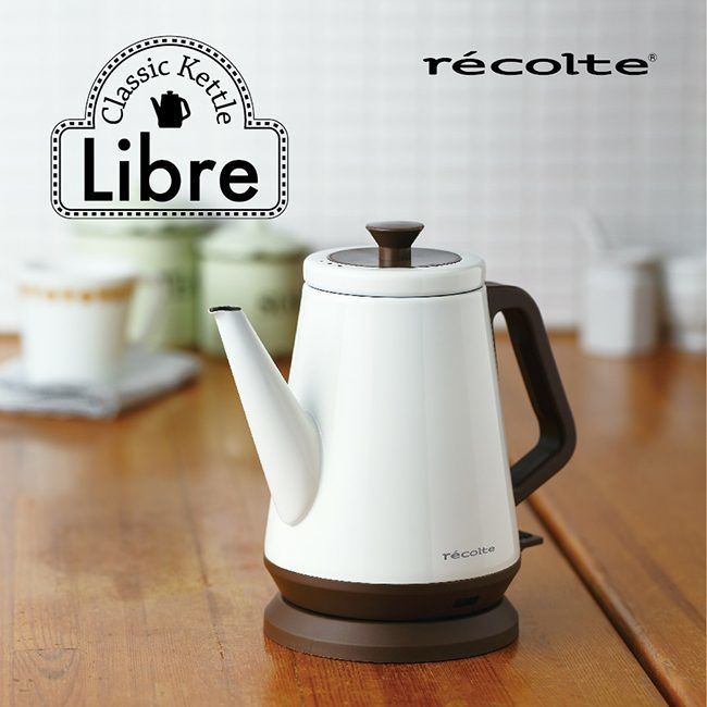 【This-This】récolte  日本麗克特  kettle libre 快煮壺 - 簡約白