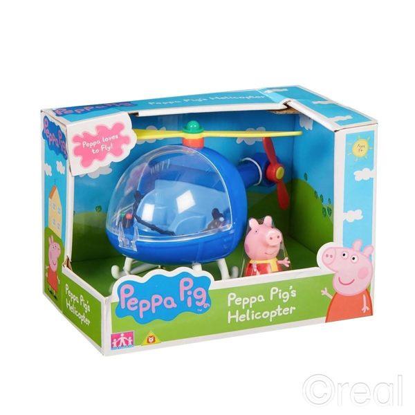 《PeppaPig》粉紅豬小妹可愛直升機