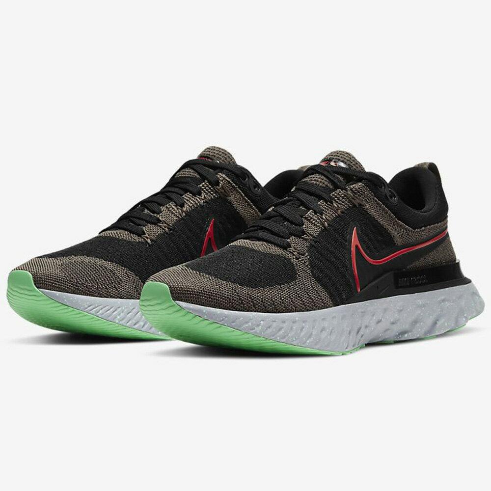 【領券最高折$300】NIKE React Infinity Run FK 2 男鞋 慢跑 柔軟 支撐 緩震 黑灰綠【運動世界】CT2357-200