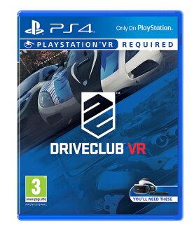預購中 10月13日發售 中文版 [普遍級] PS4 駕駛俱樂部 VR