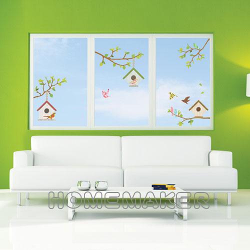 韓國大型創意牆面壁貼 HPS-60032